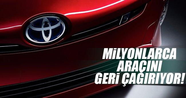 Toyota milyonlarca aracını geri çağırıyor