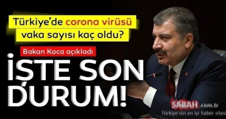 Son dakika gelişmeler! 4 Temmuz 2020 Türkiye corona virüsü vaka sayısı kaç oldu? Günlük korona tablosu ile Türkiye corona virüsü vaka, ölü sayısı son durum!