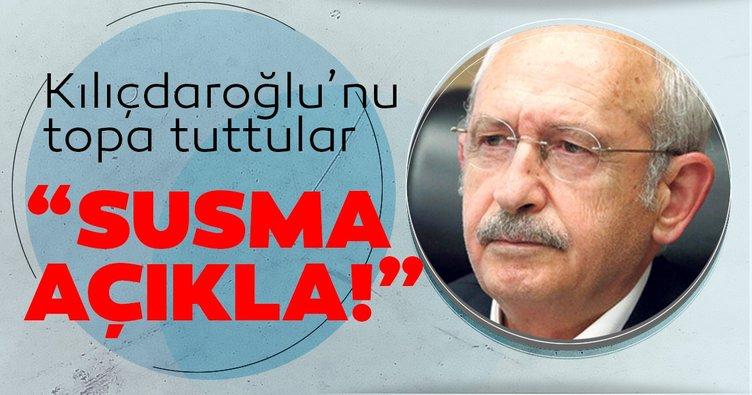 Köşe yazarlarından Kemal Kılıçdaroğlu'na sert tepki