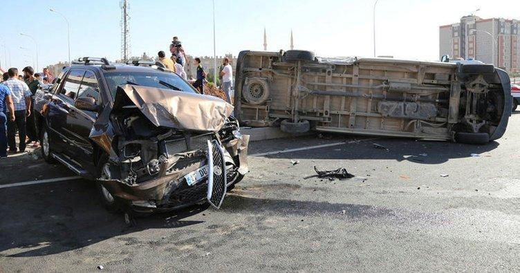 Şanlıurfa'da trafik kazası: 10 yaralı!