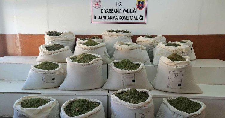 Diyarbakır'da uyuşturucu operasyonu! 448 kilo ele geçirildi