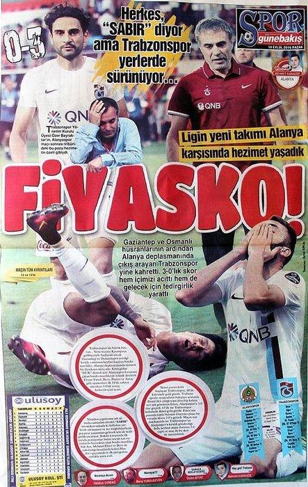 Yerel basından Trabzonspor'a sert tepki!
