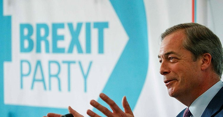 Anketlere göre İngiliz siyasetine Brexit Partisi damga vuracak