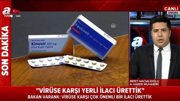Son dakika: Bakan Varank'tan flaş müjde: Yerli corona virüsü ilacı üretildi! Corona ilacı ne zaman kullanılacak? | Video