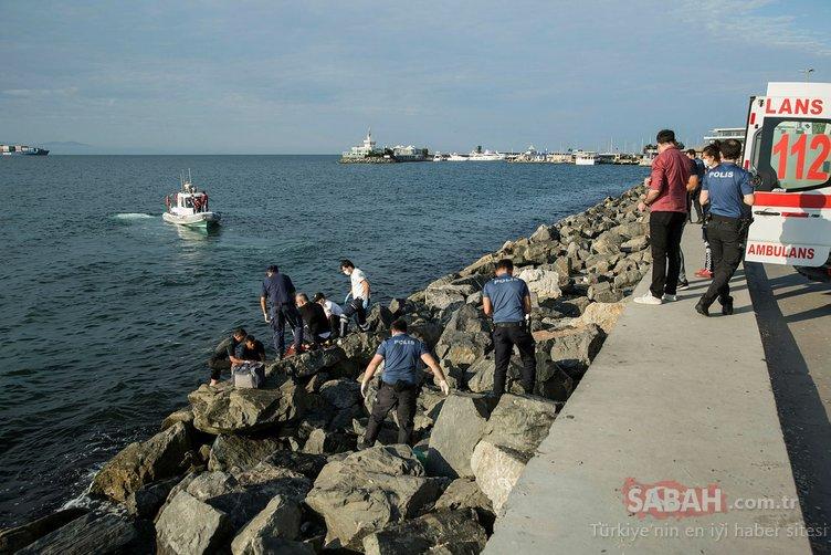 Bakırköy'de denizde ceset bulundu