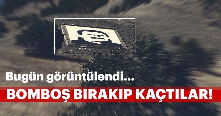 Son Dakika: PKK'nın Kandil'de boş bırakılan kontrol noktası görüntülendi