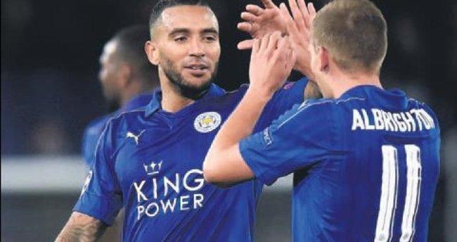 Leicester tadını çıkarıyor