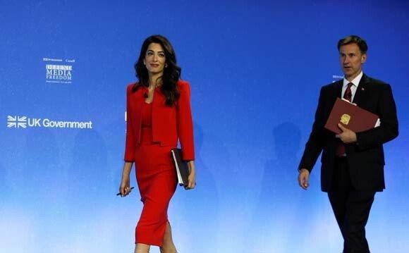 Amal Clooney'den dünya liderlerine tepki: Kaşıkçı parçalara ayrıldığında...