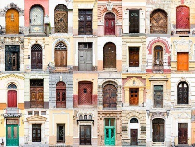 Dünyanın çeşitli ülkelerinden kapılar