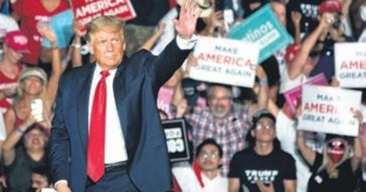 Trump, Kovid sonrası ilk seçim mitingini yaptı