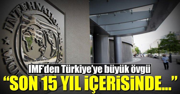 IMF'den Türkiye'ye büyük övgü