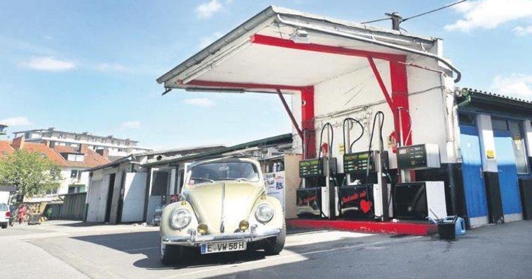 95 yıllık benzin istasyonu kapandı