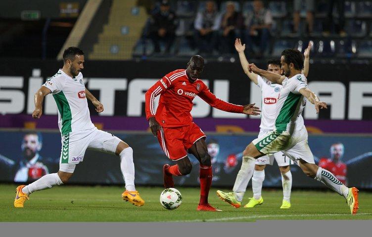 Beşiktaş - Torku Konyaspor maçının fotoğrafları