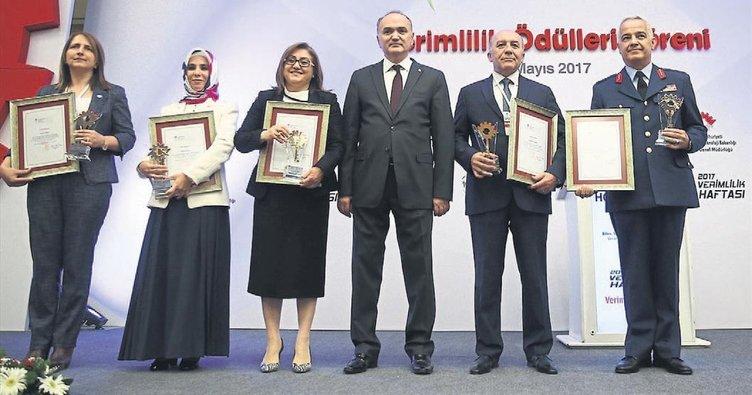 Verimlilik Ödülü Gaziantep'in oldu