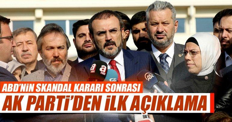 Son dakika haberi:  ABD'nin vize skandalı için AK Parti'den ilk açıklama geldi