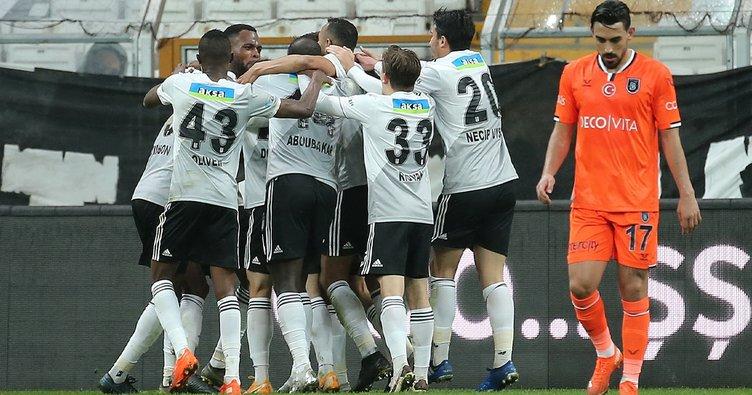 Eksik Kartal yüksekten uçtu! Beşiktaş 3-1 Başakşehir