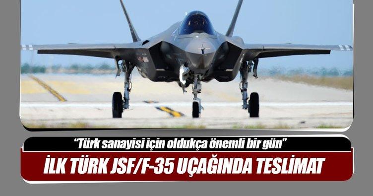 TUSAŞ, ilk Türk JSF/F-35 uçağının orta gövdesini teslim etti