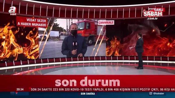 Emniyet Müdürlüğü binasında yangın | Video