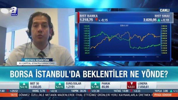 Mustafa Keskintürk: Banka hisselerinde yabancı ilgisi olabilir