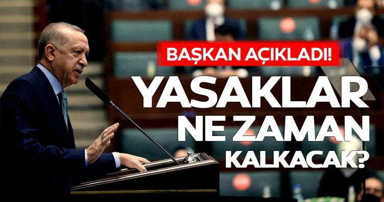 Sokağa çıkma yasağı kaldırılacak mı, diğer yasaklar ne zaman bitecek? Başkan Erdoğan'dan normalleşme açıklaması!