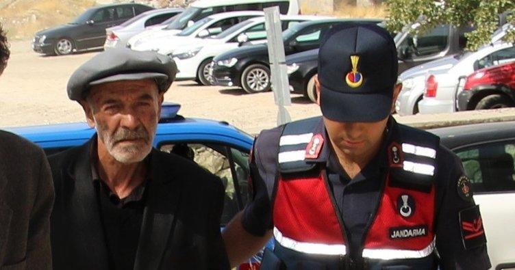 72 yaşında katil olan zanlı tutuklandı