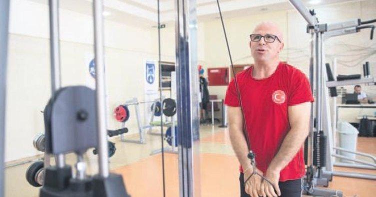 Görme engelli sporcu dünya şampiyonasına hazır