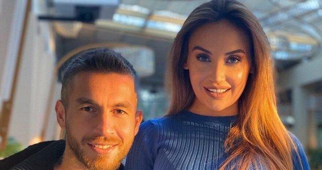 Galatasaray'a attığı golle gündem olan Adem Büyük'ün eşi Merve Büyük isyan etti! 'Ben de Galatasaraylıyım...'