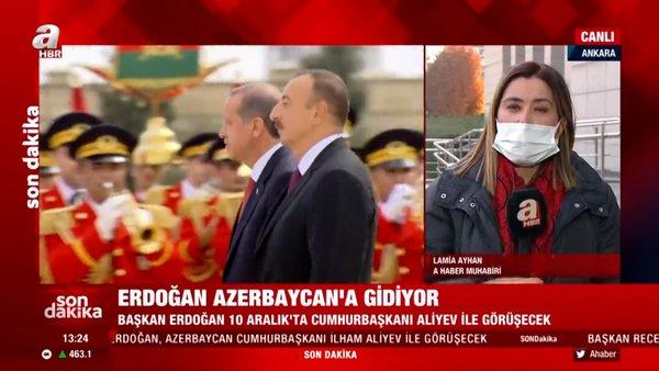 Cumhurbaşkanı Erdoğan Azerbaycan'a gidiyor | Video