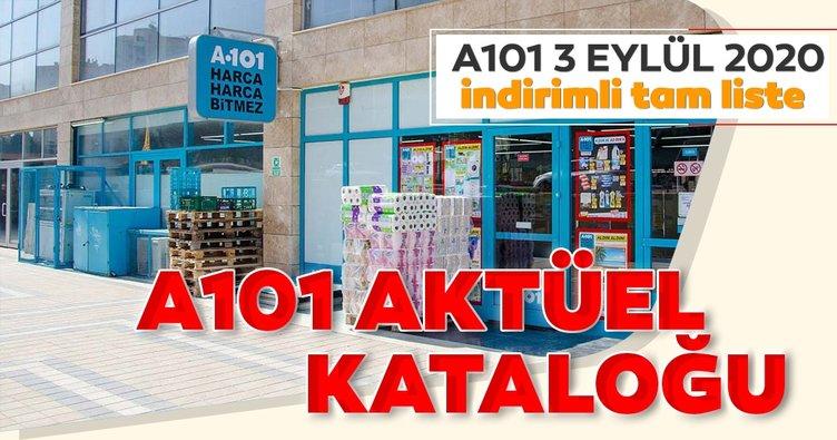 A101 aktüel ürünler kataloğu dev indirimleriyle geliyor! 3 Eylül A101 aktüel ürünler kataloğunda bu hafta neler var?
