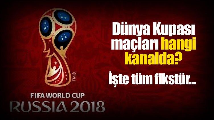 Dünya Kupası maçları hangi kanalda canlı ve şifresiz yayınlanacak? - TRT 1 yayın akışı programı burada!