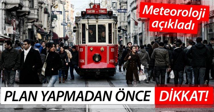 Meteoroloji'den beklenen hava durumu uyarısı geldi! Bugün İstanbul hava durumu nasıl olacak? Son tahminler...
