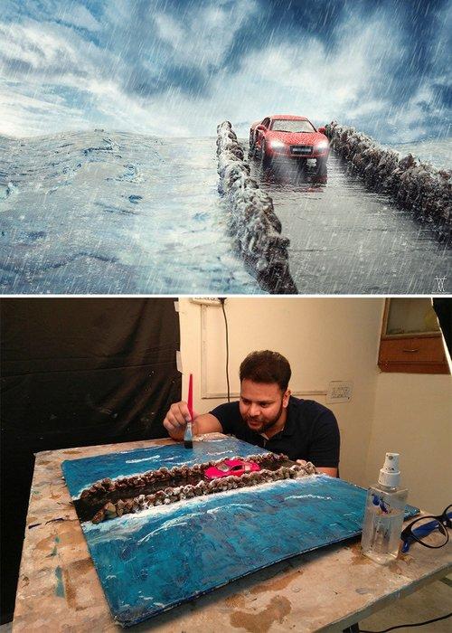 Yaptıklarıyla şaşırtan usta fotoğrafçıların eserleri