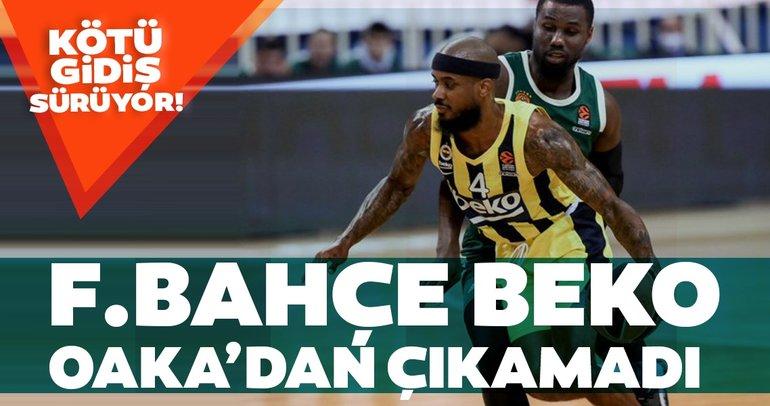 Fenerbahçe OAKA'dan çıkamadı!