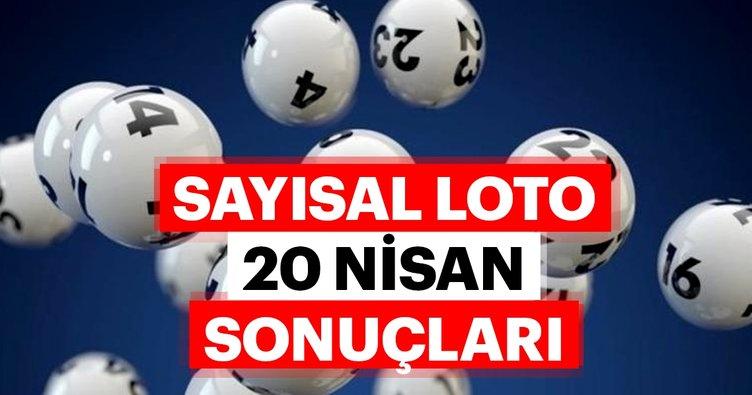 Sayısal Loto sonuçları açıklandı! 20 Nisan MPİ Sayısal Loto çekiliş sonuçları bilet sorgulama sayfası