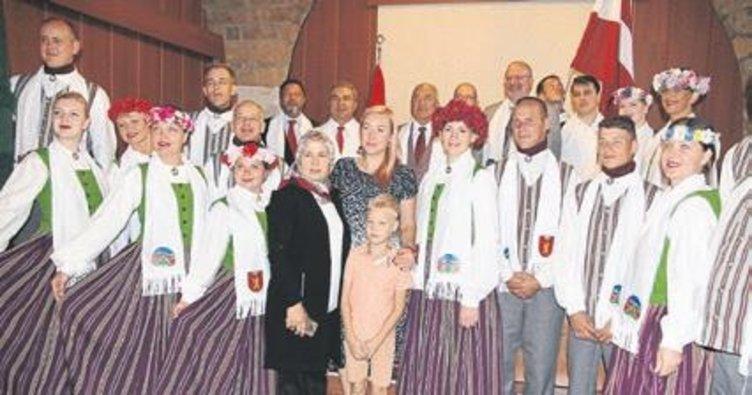 Çamlıyayla ile Letonya'nın Valka şehri 'kardeş' oldu