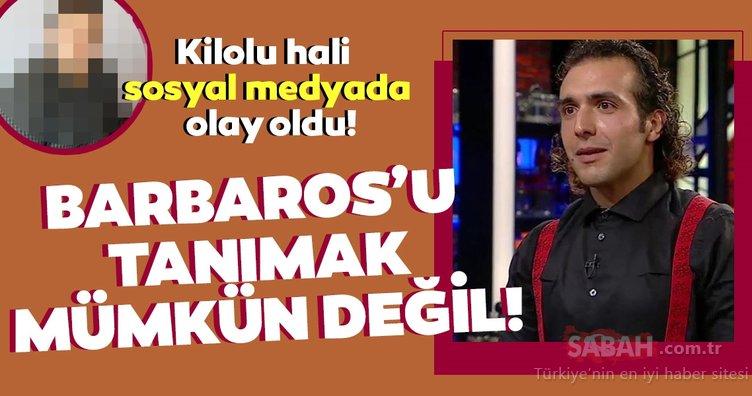 MasterChef Türkiye'nin favori isimlerinden Barbaros Yoloğlu'nun kilolu hali sosyal medyayı salladı! Bu haliyle tanımak mümkün değil!
