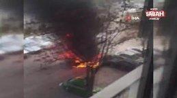 Şam'da bomba yüklü araç patladı: 1 yaralı | Video