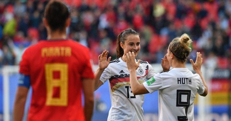 Almanya, İspanya'yı tek golle geçti