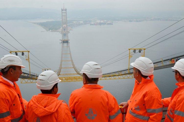 Dev köprüye 252 metrede inceleme