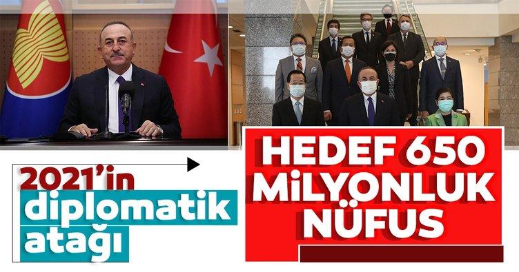 Ankara'dan 2021'in diplomatik atağı: Hedeflenen 650 milyonluk nüfus