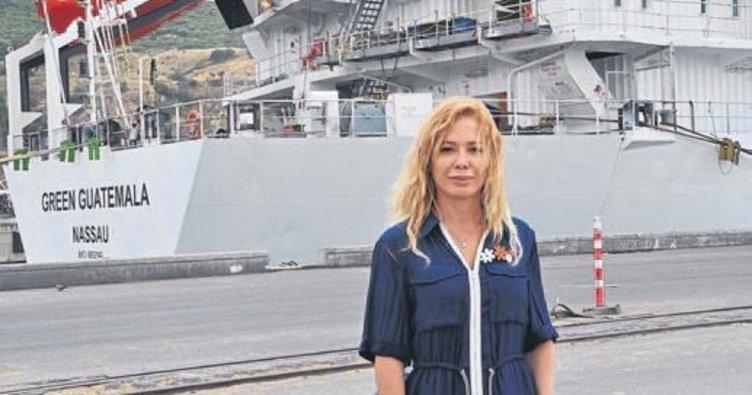 Katar'da dev gemi gidiyor