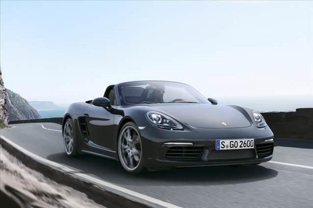 Porsche 718 Boxster gün yüzüne çıktı
