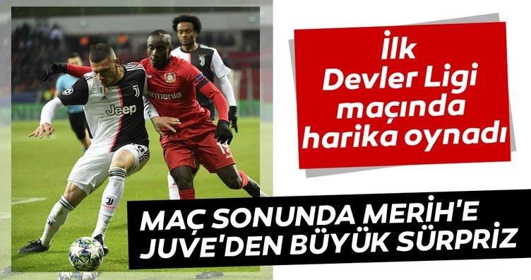 Juventus'tan Merih Demiral'a sosyal medyadan jest!