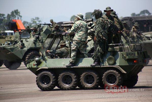 Venezuela, savaşa hazırlanıyor! Sınırda askeri hareketlilik