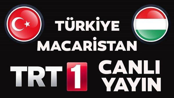 Türkiye - Macaristan |CANLI YAYIN| Milli Maçı TRT 1 kanalı yayın izle | Video