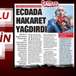 Kılıçdaroğlu Osmanlı'ya hakaretini savundu