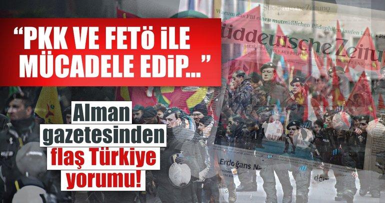 SZ: Almanya şimdi Türkiye'ye karşılık vermeli