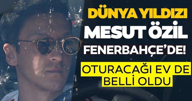 SON DAKİKA... Hayaldi gerçek oldu Mesut Özil Fenerbahçe'de! İstanbul'da oturacağı ev de belli oldu!