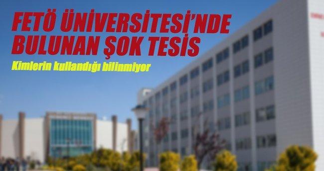 FETÖ ile bağlantılı üniversitede atış poligonu bulundu