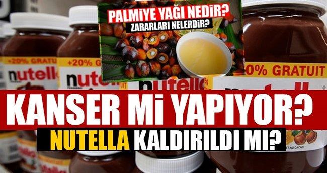 Nutella kansorojen mi? - Palmiye yağı nedir ve zararları nelerdir? Yasaklandı mı?